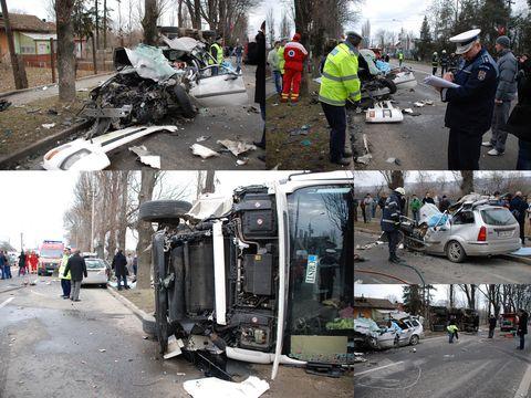 Tragedie pe Clujului: Mai multi morti intr-un accident rutier - IMAGINI SOCANTE