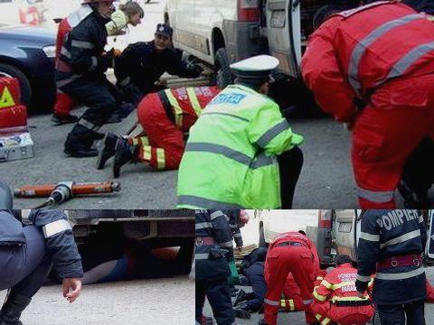 Femeie omorata de o utilitara aflata in marsarier, la Profi