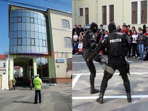Fotbal, demostratii de lupte, sedinte festive si avansari in grad la Oradea de Ziua Politiei