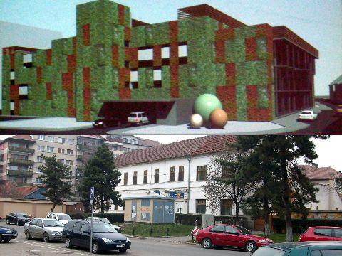 Parcarea de pe Tribunalului a incins spiritele in Primaria Oradea - FOTO/VIDEO