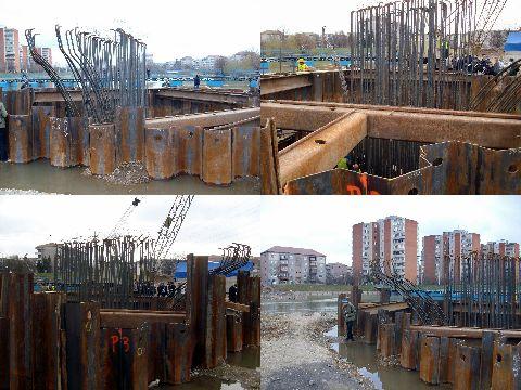 Primaria Oradea a platit deja 1 milion euro pentru noul pod rutier - FOTO/VIDEO