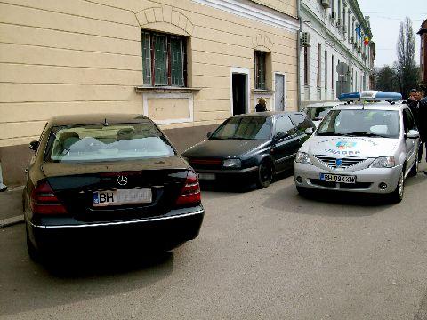 Bolidul care invinge Politia Locala Oradea